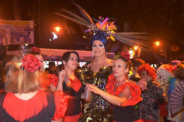 Carnival street party, Puerto de la Cruz, Tenerife