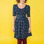 Nautical Agnes Dress