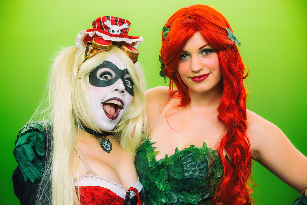 Harley Quinn And Poison Ivy Silicon Valley Comic Con 201
