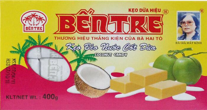 Kẹo Dừa bến Tre từ lâu đã là mặt hàng có chỗ đứng vững chắc tại thị trường Trung Quốc