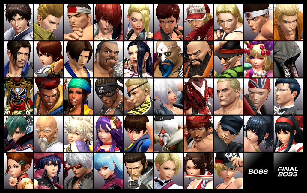 """THE KING OF FIGHTERS XIV"" to be released on PlayStation®4 on August 23rd! 50 fighters are about to clash in a brand new KOF storyline!"