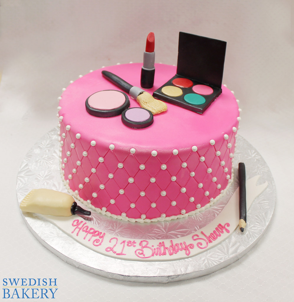 Single Tier, Hot Pink Fondant, Adult