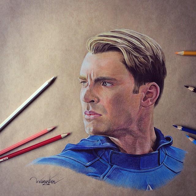 Captain America by godot_23