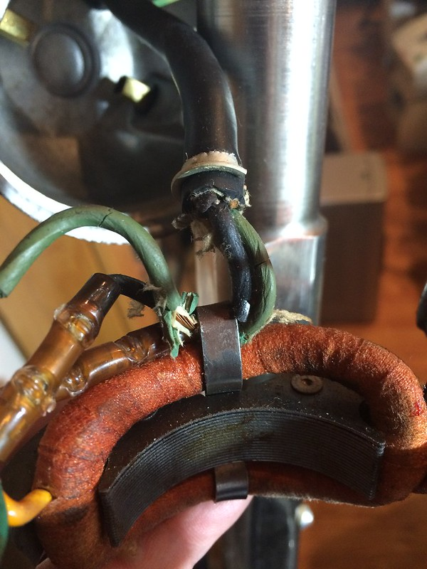 Exposed Wires Found On The L&r Machine Motor - Watch Repair Tools