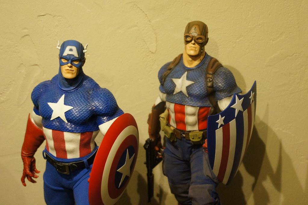Custom Captain America Premium Format  25024958585_99a74caedf_b