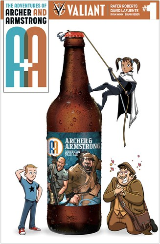 Limited 200 copies of the Arcade Brewery Variant Cover available at event