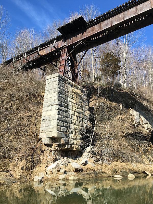 Monon High Bridge, Delphi | Built in 1891, the High Bridge o ...