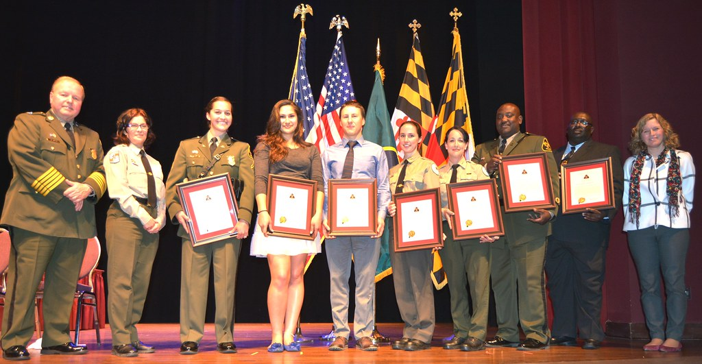A photo of some of the honorees.