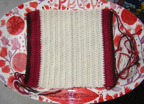 pouch wip crocheting part done