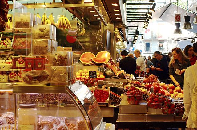 La Boqueria Market, Barcelona,