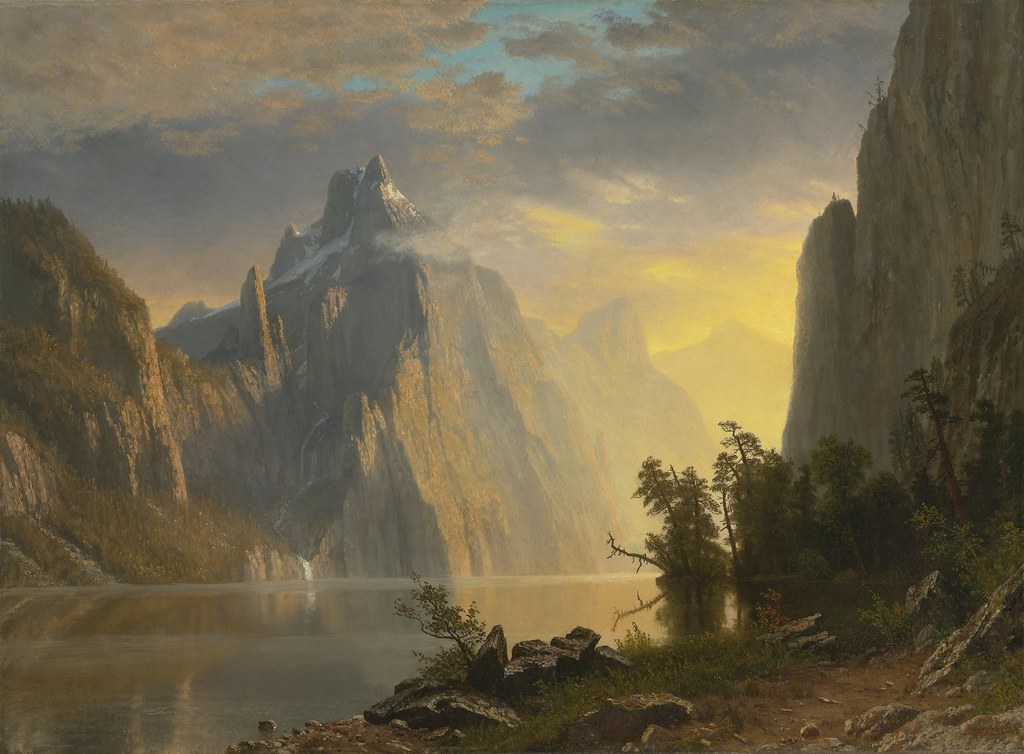 Lake in the Sierra Nevada by Albert Bierstadt, 1867