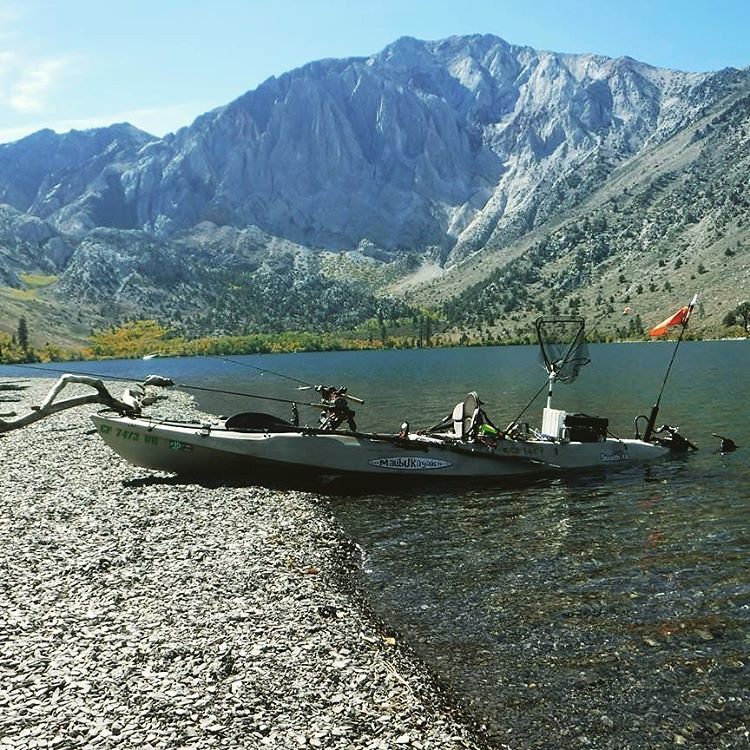 Last october at convict lake ca taking a break from fi for Convict lake fishing report