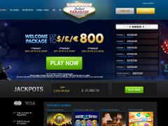 Jackpot Paradise Casino Lobby