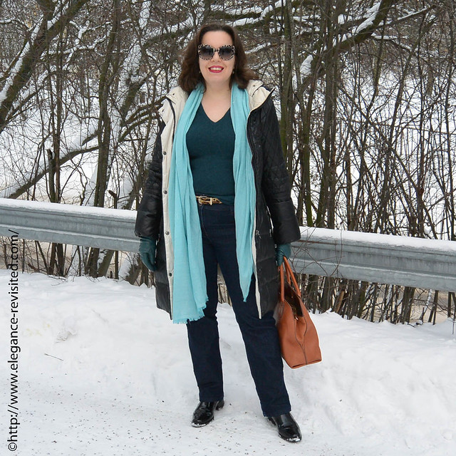 40+ winter style