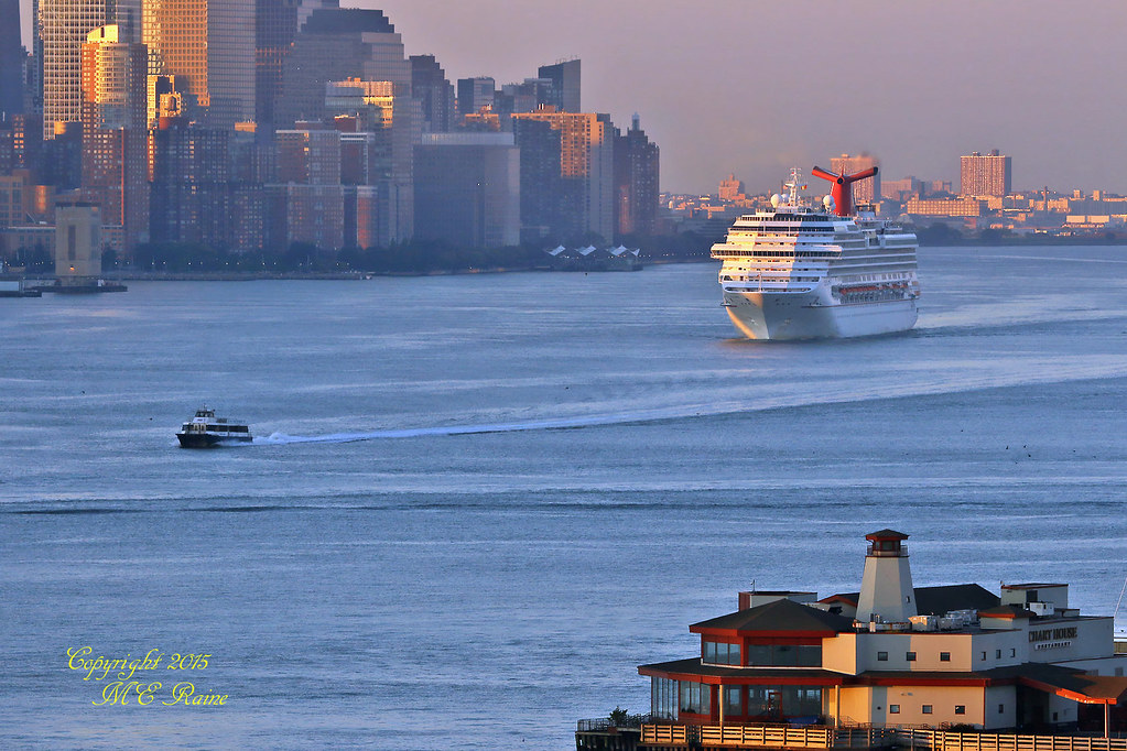 Early Summer Sunrise Hour Dawn Of Manhattan NY Harbor F Flickr - Cruise ships from new jersey