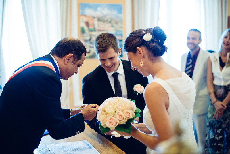 Wedding photography,Olivia and Marc on the cote d'azur