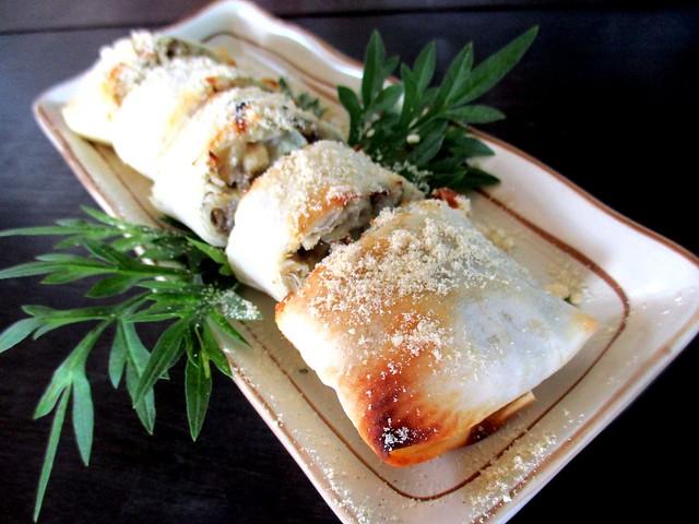 Payung mushroom roll