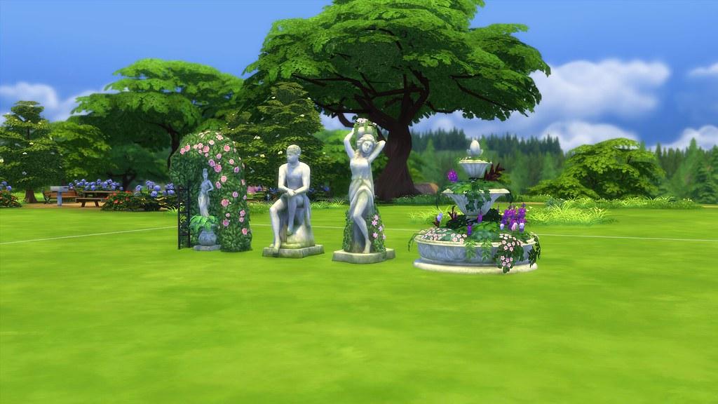 Los sims 4 jard n rom ntico review pekesims for El jardin romantico