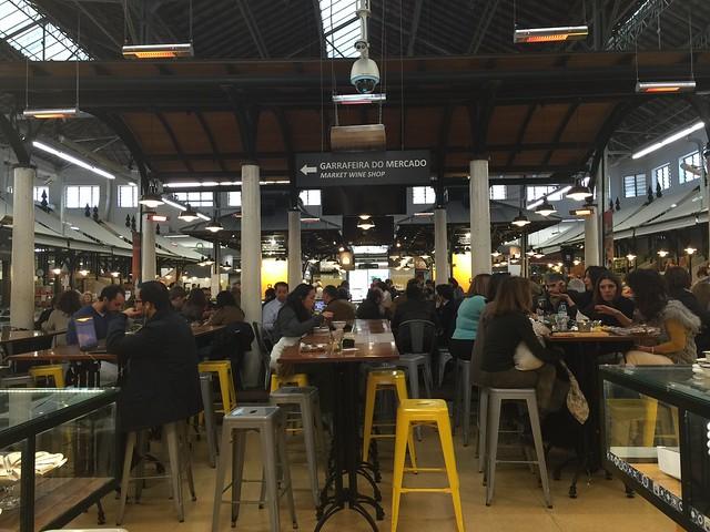 Mercado Campo de Ourique (Lisboa, Portugal)