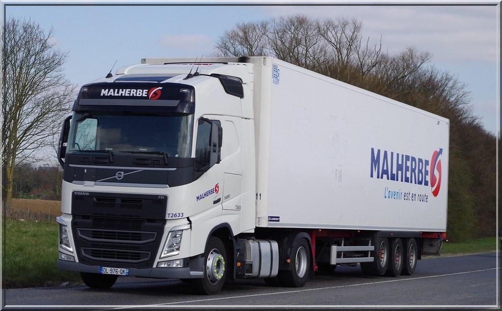 Volvo New Fh500 Globetrotter Transports Malherbe Rots F