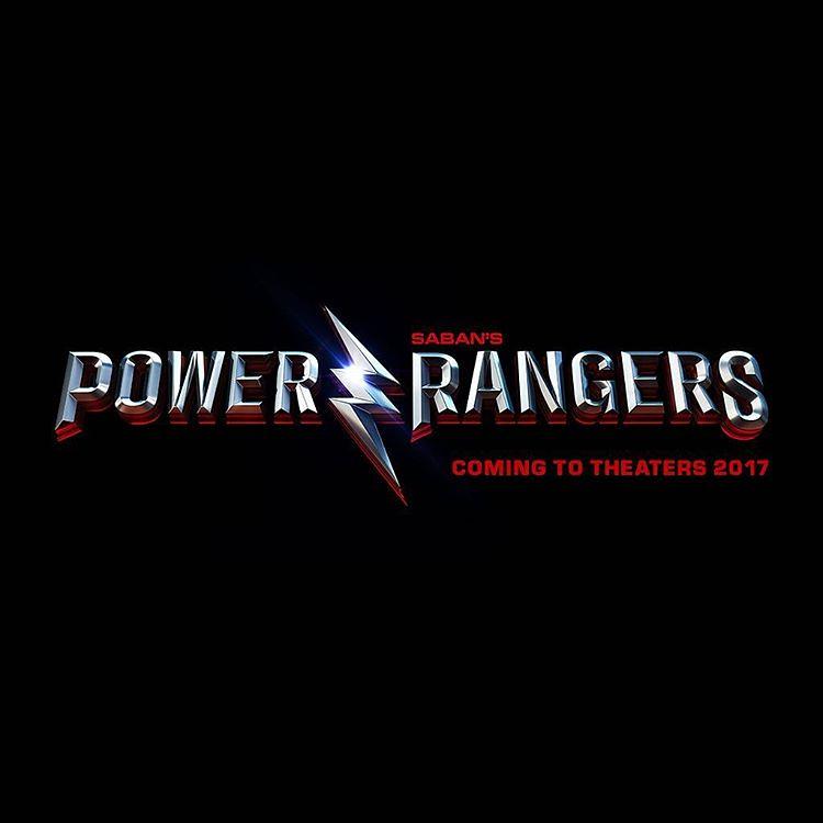 160416(1) - 嶄新的閃電配上經典的字體、真人電影《金剛戰士 Power Rangers》將在2017/3/24上映!