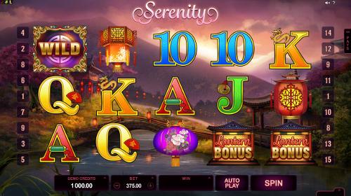 Serenity Slot Machine