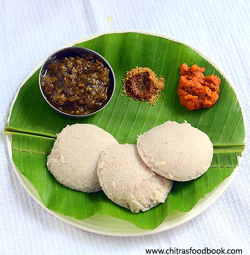 Red Rice Idli Dosa Recipe – Healthy Idli Recipes | Chitra ...