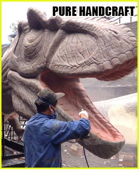 Handcraf Animatronic Dinosaur