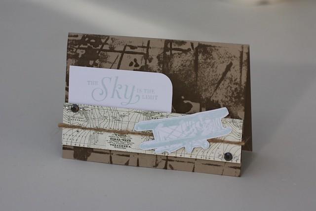 Sky's the Limit card by StickerKitten