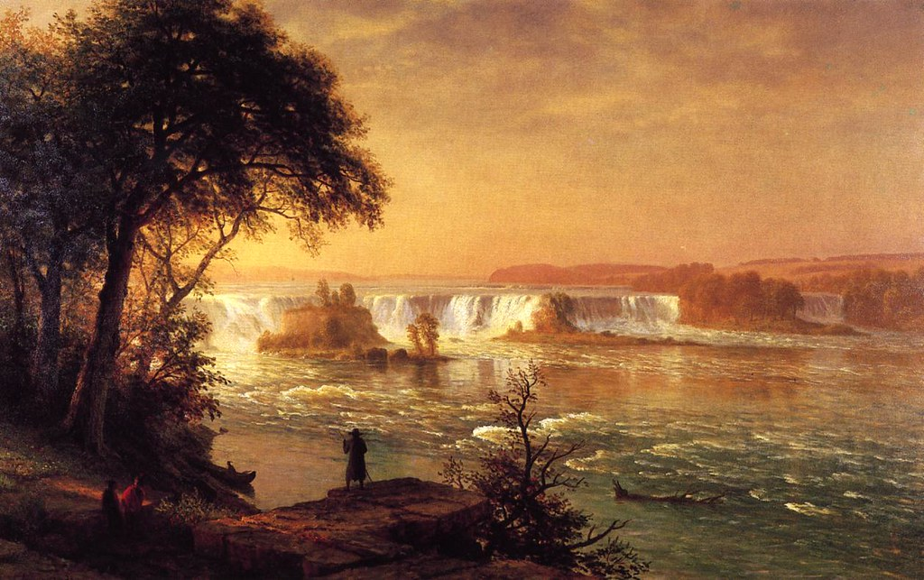 The Falls of St. Anthony by Albert Bierstadt c.1887