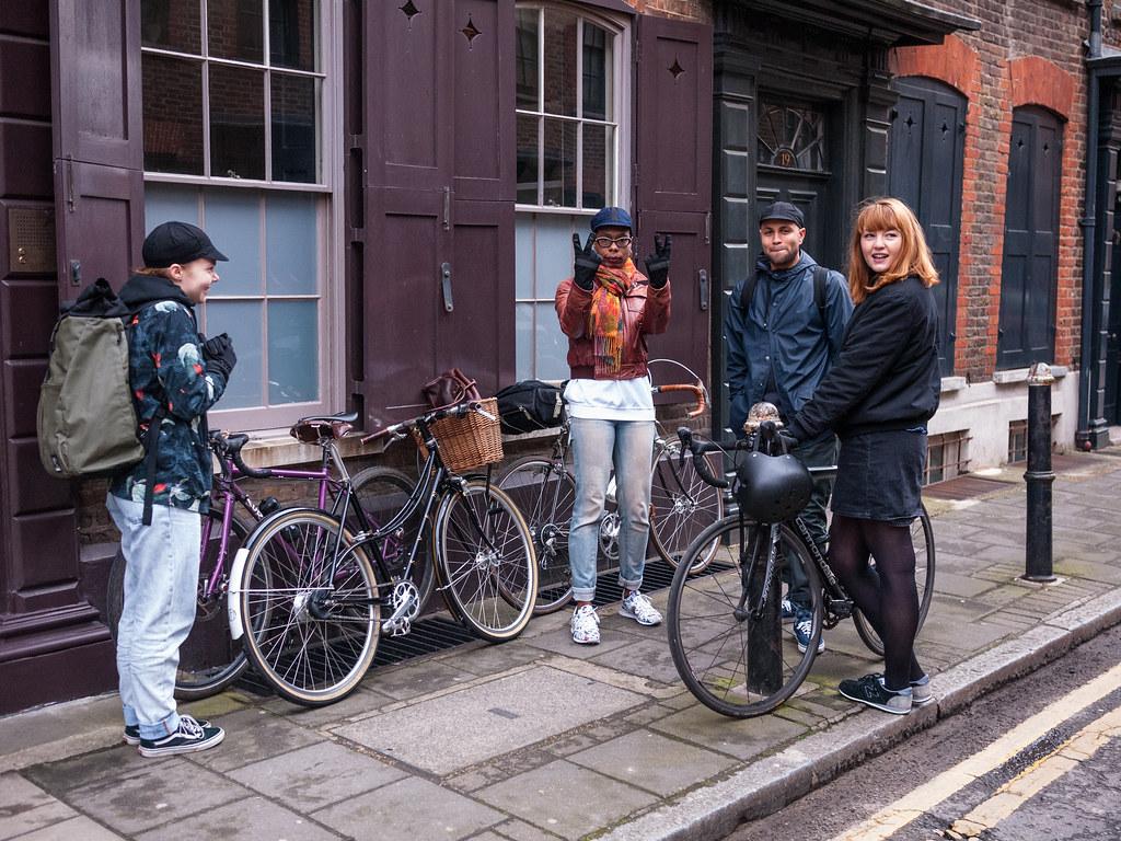 Spitalfields Bikes London Shoot