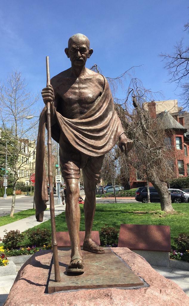 Mahatma Gandhi Memorial -- Sheridan-Kalorama Washington (D ...