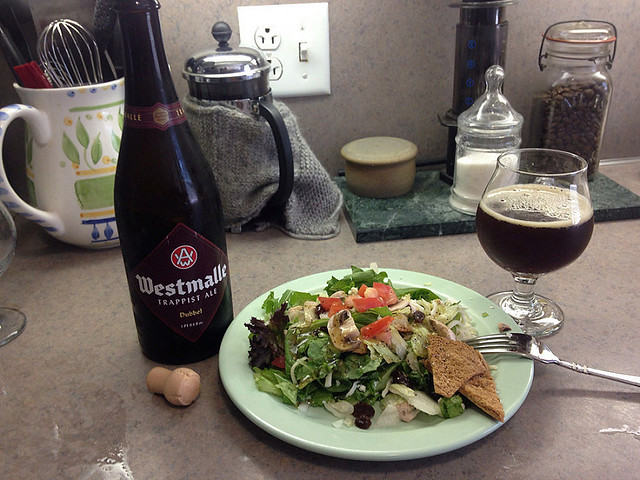 Westmalle Trappist Ale Dubbel beer