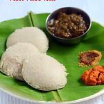 Red rice idli,dosa recipe