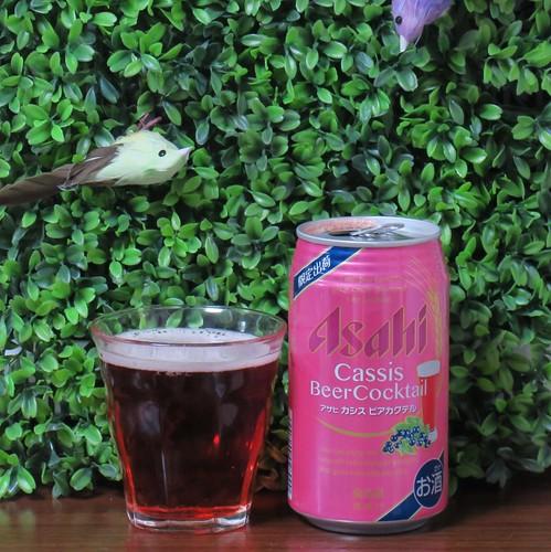 ビール:カシス ビアカクテル(アサヒ)