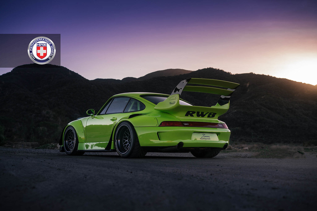 Used Luxury Cars For Sale >> HRE Wheels | One Wild 993 RWB with HRE Classic 300 Wheels ...