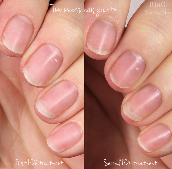Back to natural nails 2016 – Second IBX treatment – Ria G – Beauty Blog