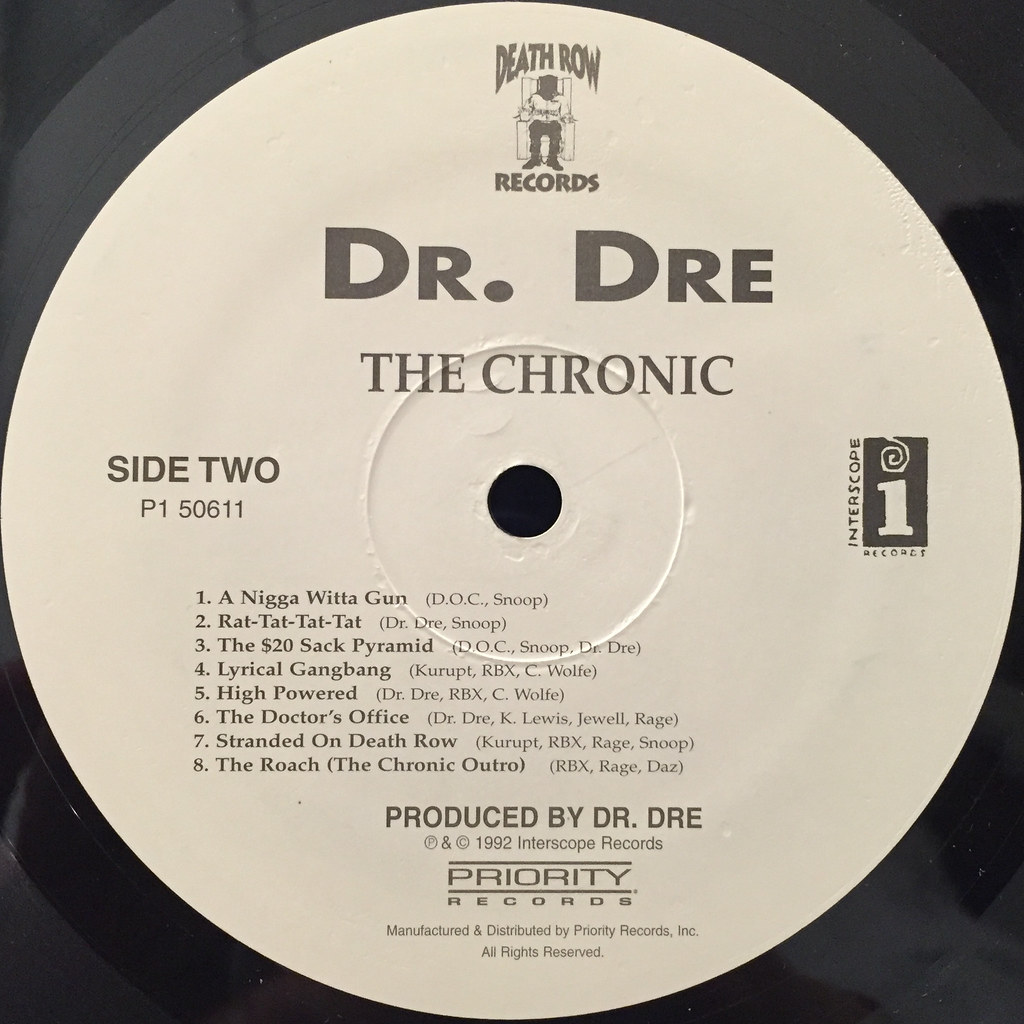 DR.DRE:THE CHRONIC(LABEL SIDE-B)