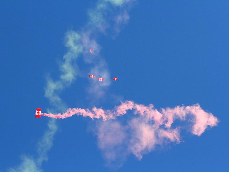 IMG_7686 Canadian SkyHawks Parachute Team