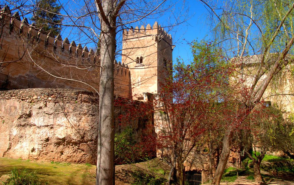 Jardines exteriores de la alhambra granada 5654 25 3 2015 for Jardines de gomerez granada