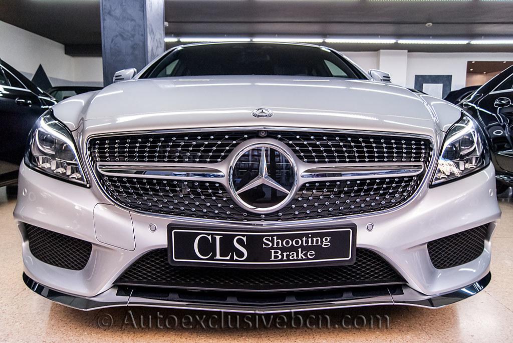 Mercedes benz cls 350 bt 4matic shooting brake amg 258 for 2016 mercedes benz cls550 4matic