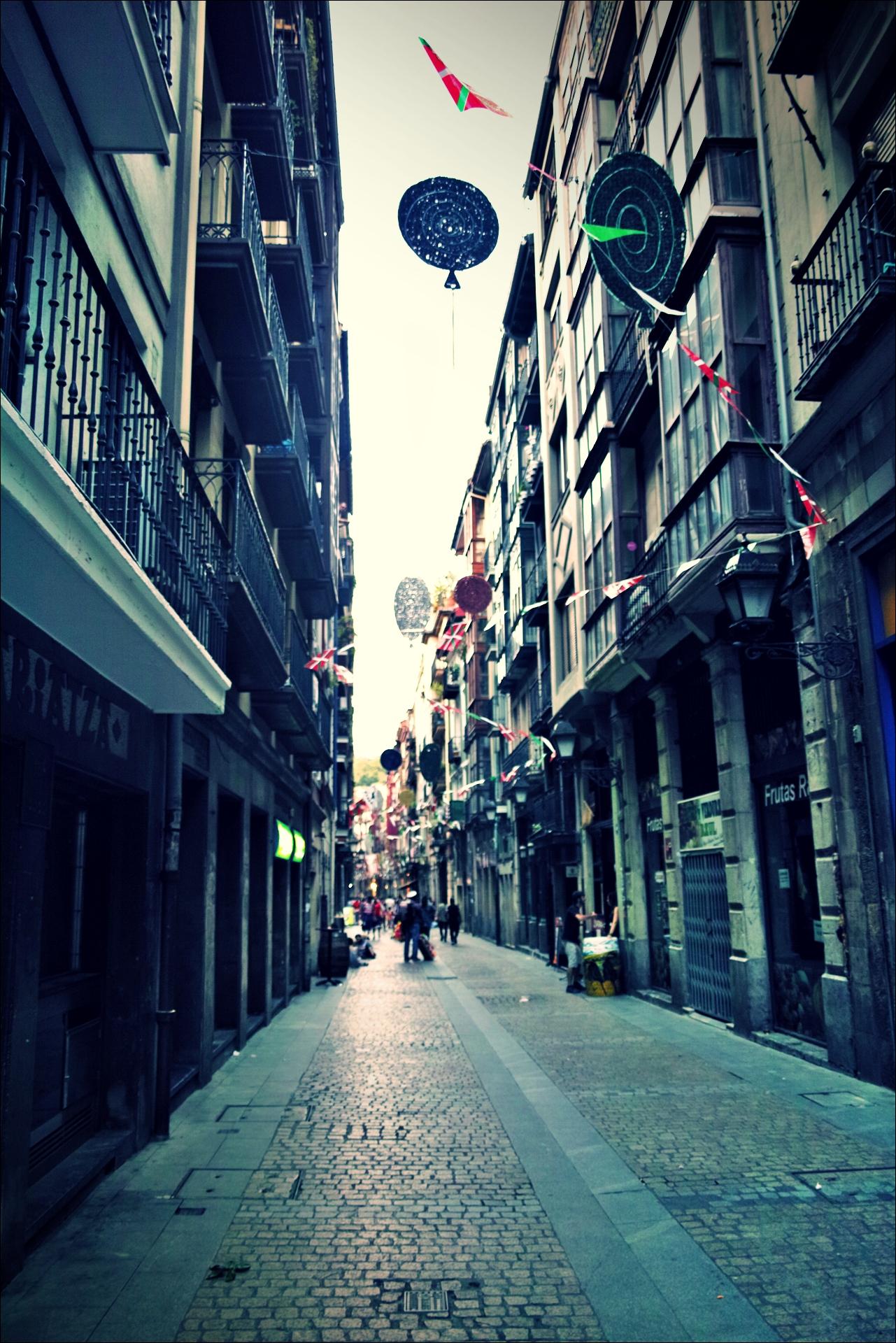 한적한 거리-'빌바오 bilbao Euskadi'