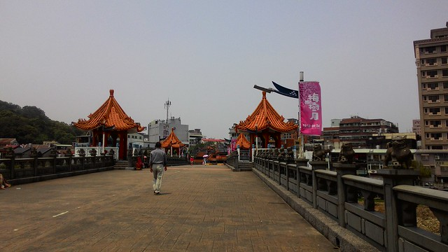 梅樹月卻發生文資危機,顯得無比諷刺,原預計將鑄鐵作品改移到長福橋設置。攝影:林倩如。