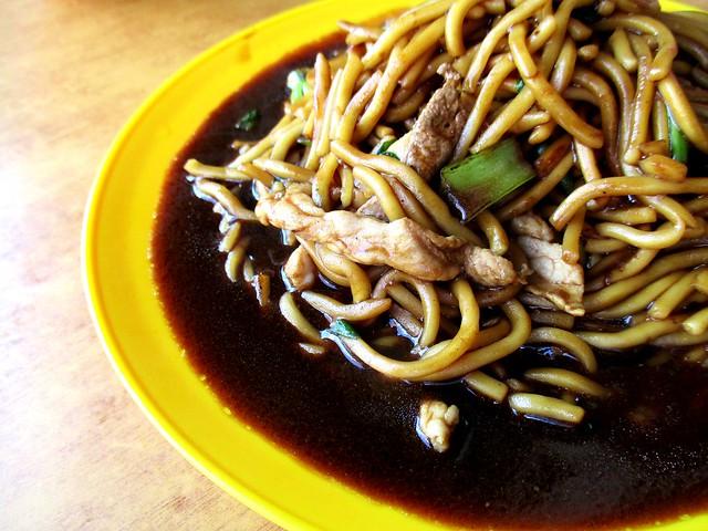 Sungai Merah market Foochow fried noodles 2