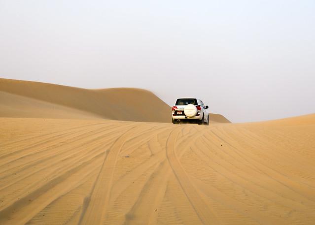 Roadtrip por el desierto de Abu Dhabi