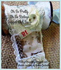 Snippet Roll Swap by Vintage Dragonfly