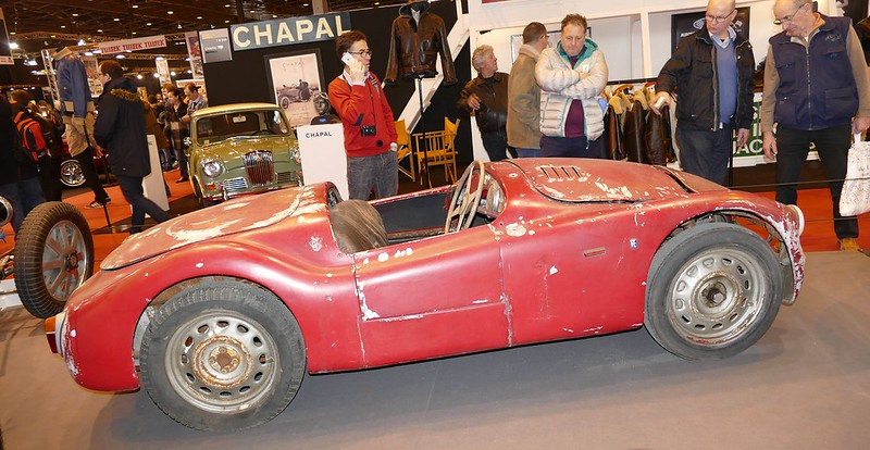 Nardi B.M.W. Gilco / Canta au Retromobile Paris 2016 24947545341_bf3b29495c_c