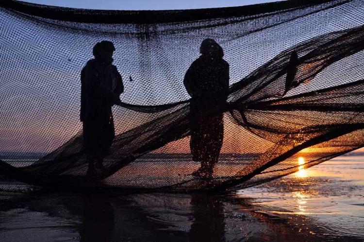 Fotografia em palavras: Pescador