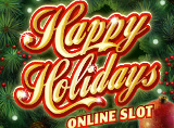 Online Happy Holidays Slots Review