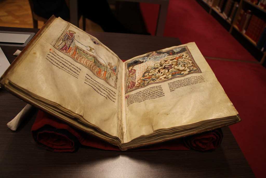 Medieval Manuscript at the BnF, Paris